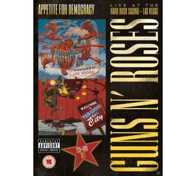 Appetite For Democracy: Live At The Hard Rock Casion - Las Vegas