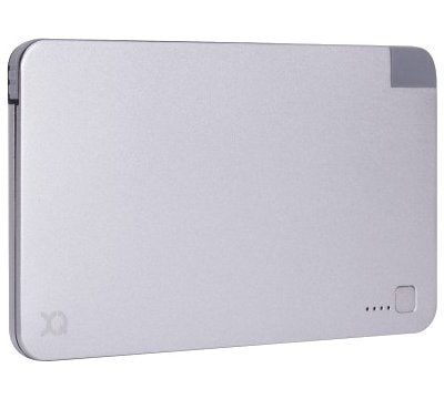 Powerbank XQISIT PB 3000 mAh integrated microUSB Srebrny