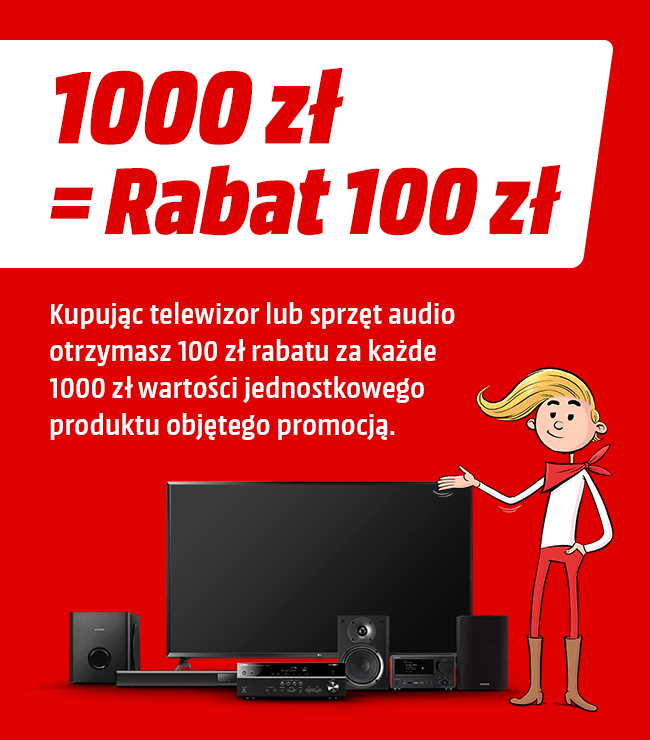 Modish Promocja RTV i telewizory - sklep MediaMarkt.pl KT54