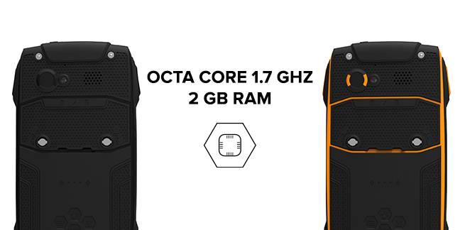 256f678cb51a Sercem smartfona jest ośmiordzeniowy procesor MediaTek o taktowaniu zegara  1.7 GHz