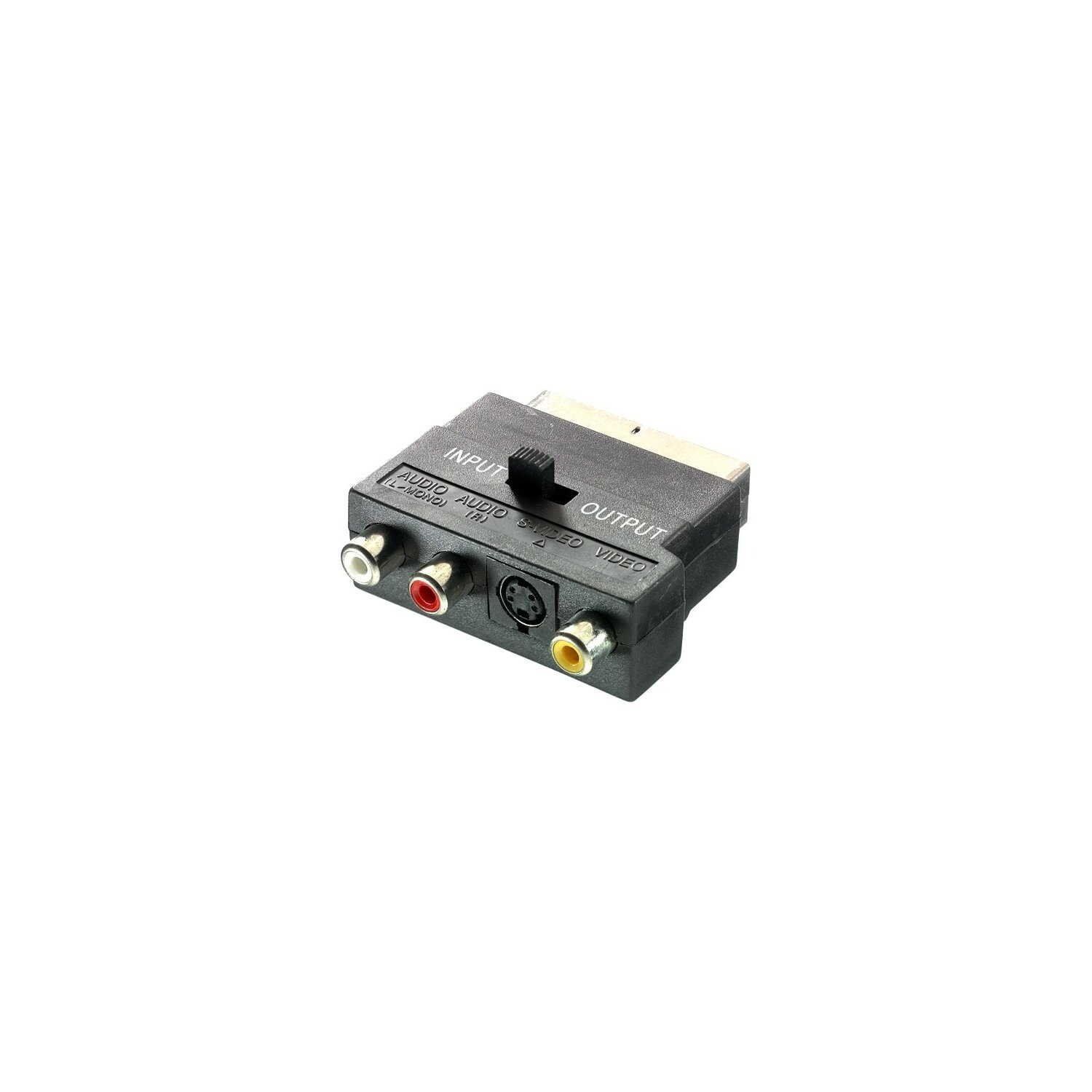 Adapter VIVANCO S-Video/3xRCA - SCART