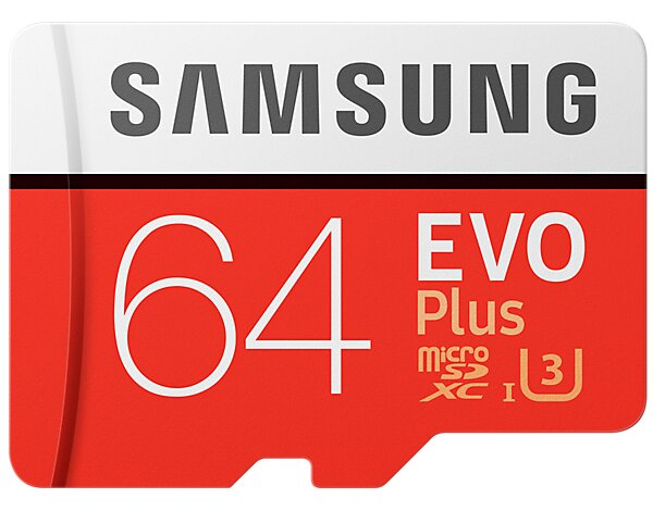 Karta pamięci SAMSUNG EVO Plus 64GB MicroSD MB-MC64GA/EU + adapter