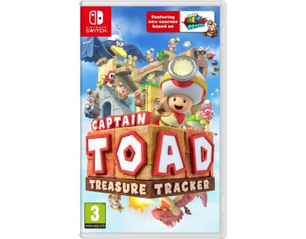 Gra Nintendo Switch Captain Toad: Treasure Tracker