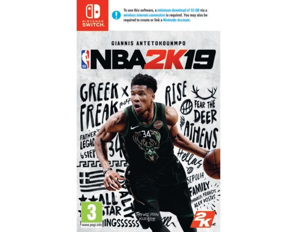 Gra Nintendo Switch NBA 2K19