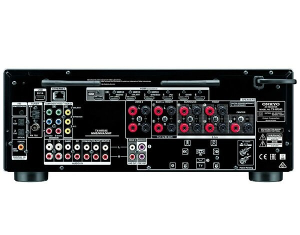 Amplituner ONKYO TX NR545 Czarny, Amplitunery i Wzmacniacze