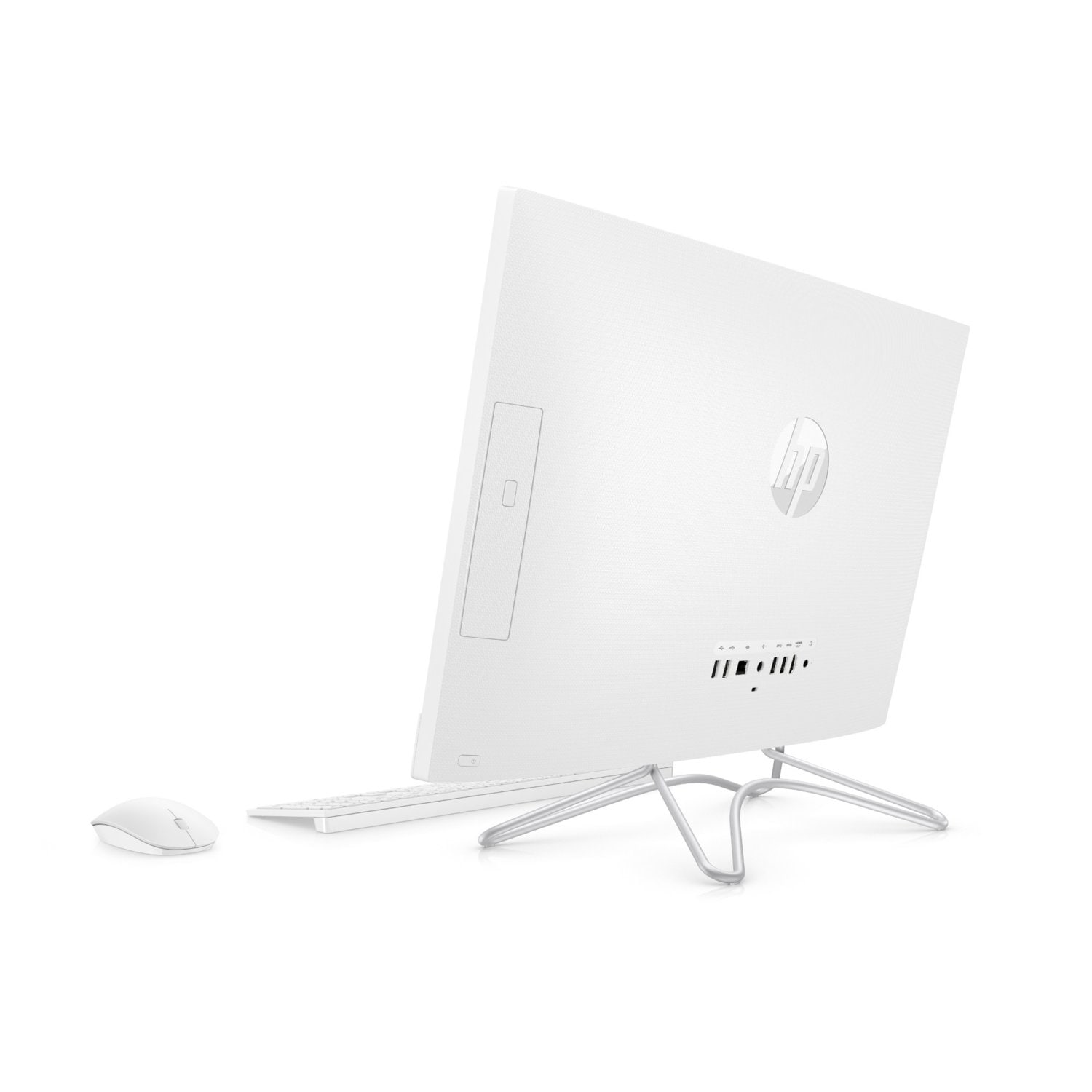 Komputer All-in-One HP 24-f0004nw i3-8130U/4GB/1TB+16GB Optane/INT/Win10H Biały