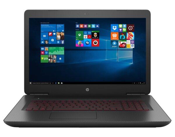 Laptop Hp Omen 17 W271nw I7 7700hq 16gb 128gb Ssd 2tb Gtx1070ti Win10 Opinie Cena Mediamarkt Pl
