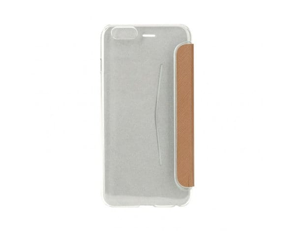 Etui XQISIT Flap Cover Adour do iPhone 6/6s Karmelowy