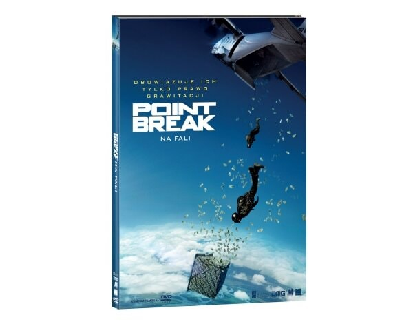 Point Break - na fali (DVD) + Książka