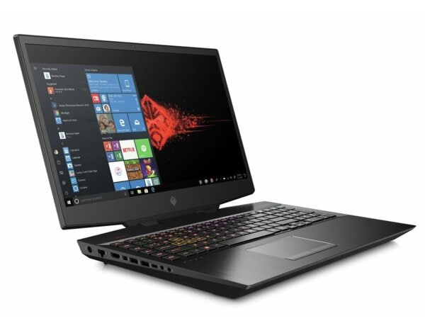 Laptop HP Omen 17-cb0004nw i7-9750H/16GB/512GB SSD/RTX2080 8GB/Win10H