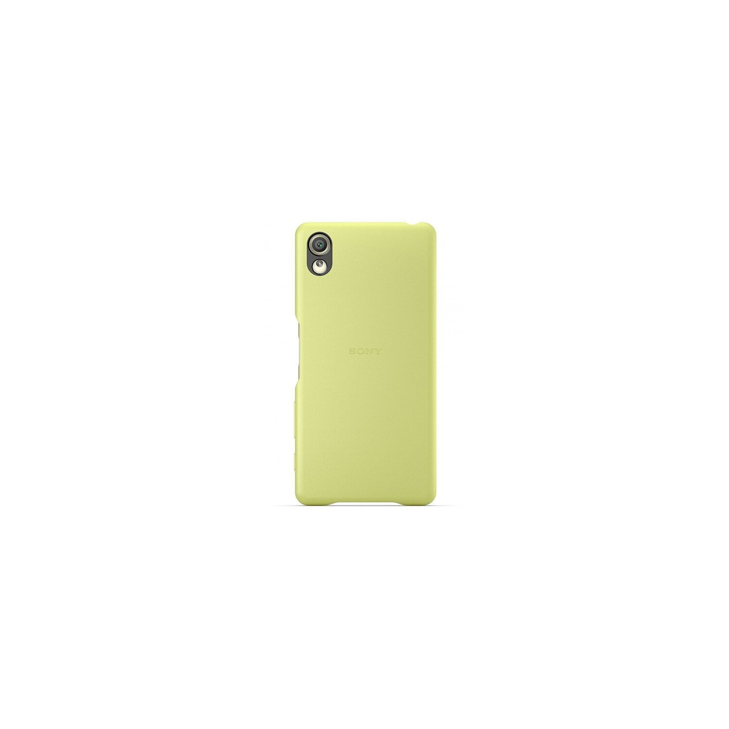 Etui SONY SBC22 Back Cover do Sony Xperia X Limonkowy