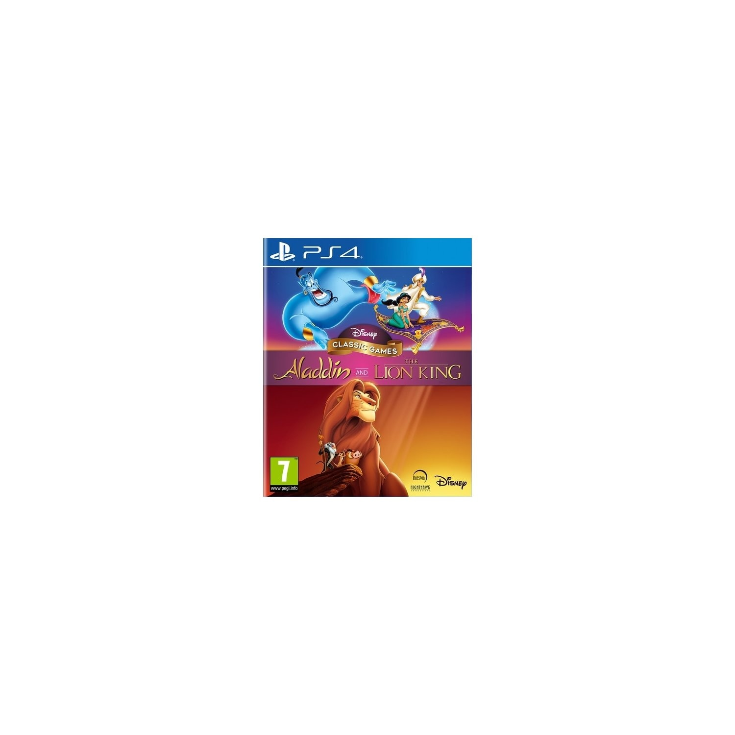 Gra PS4 Disney Classic Games Aladdin and the Lion King