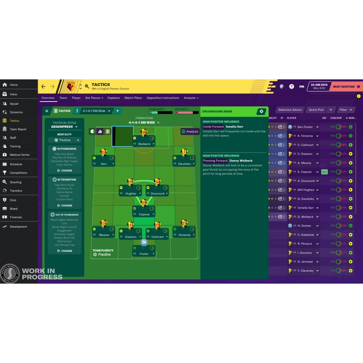 Gra PC Football Manager 2020