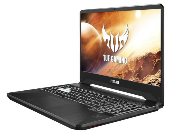 Laptop ASUS TUF Gaming FX505DT-AL027T Ryzen 7 3750H/8GB/512GB SSD/GTX1650/Win10H Stealth Black