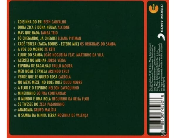 Ultimate Samba Collection - 1CD Camden compilation