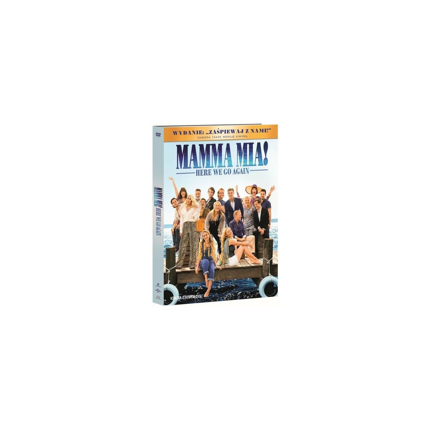 Mamma Mia! Here We Go Again (DVD) + Książka