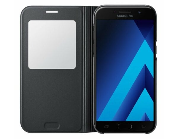Etui SAMSUNG S View Standing Cover do Galaxy A5 (2017) Czarny