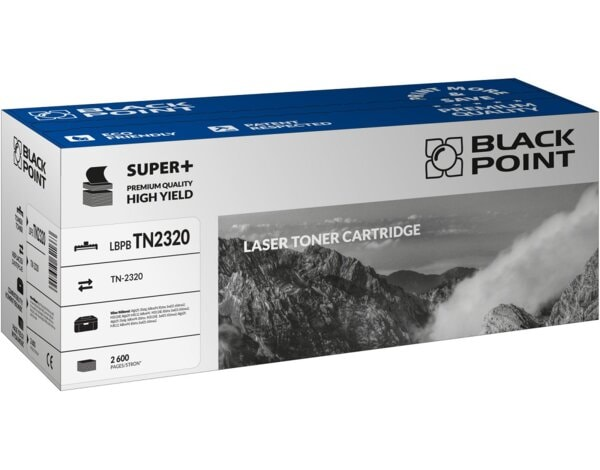 Toner BLACK POINT LBPBTN2320 Zamiennik Brother TN-2320