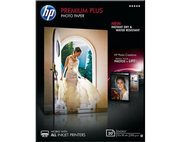Papier fotograficzny HP Premium Plus Photo 300g 13 x 18 cm