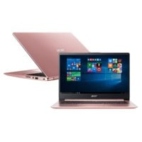 Laptop ACER Swift 1 SF114-32-P05F NX.GZLEP.003 Pentium N5000/4GB/128GB SSD/INT/Win10S Różowy