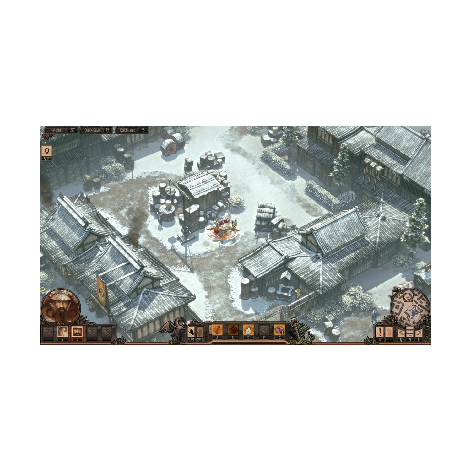 Gra Xbox One Shadow Tactics: Blades of Shogun