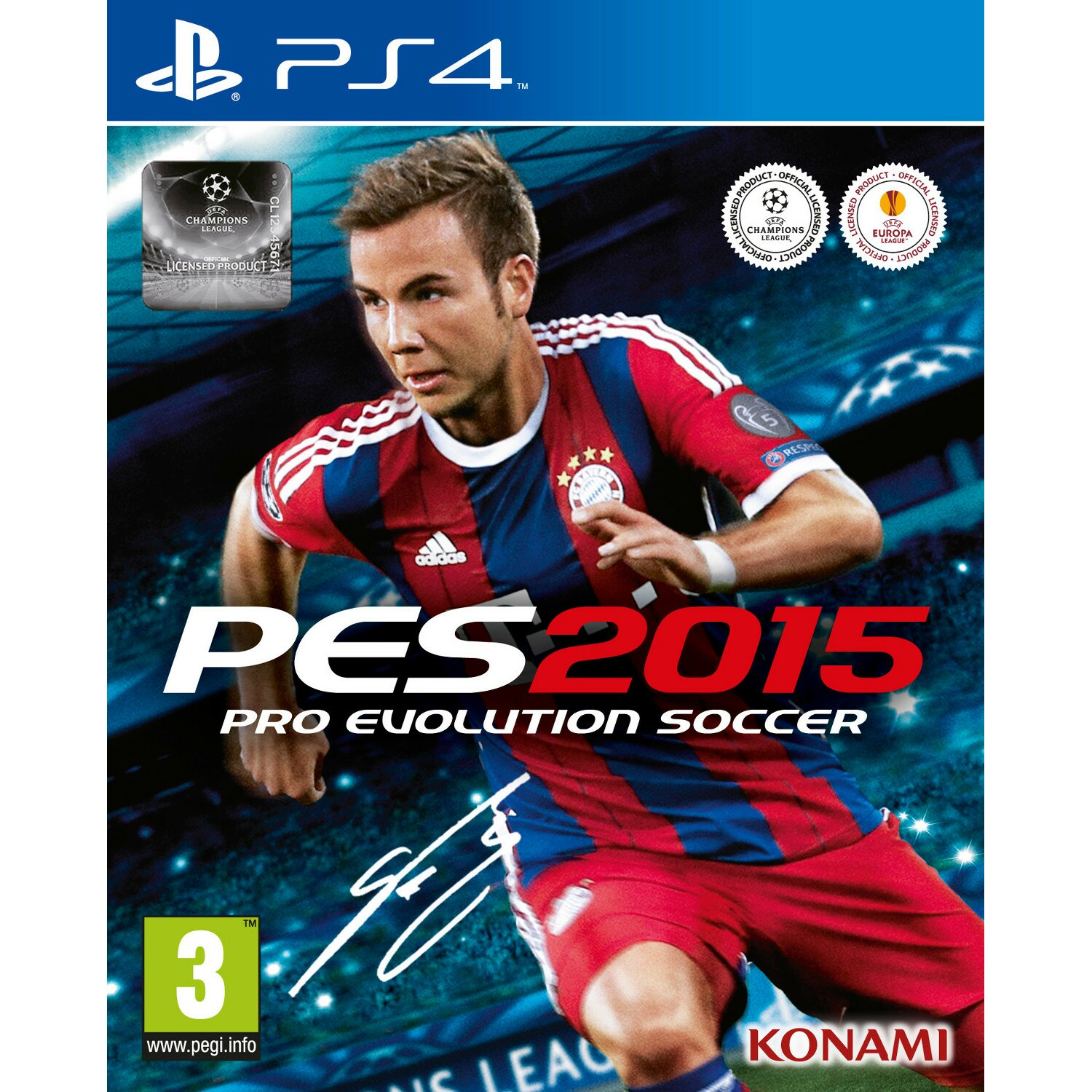 Gra PS4 Pro Evolution Soccer 2015 Day One Edition