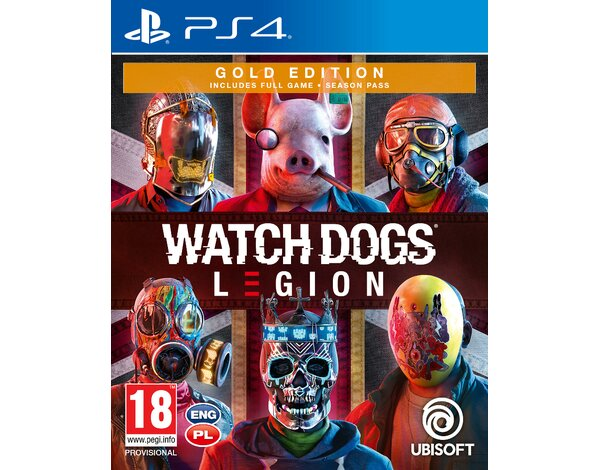 Gra PS4 Watch Dogs Legion Gold Edition