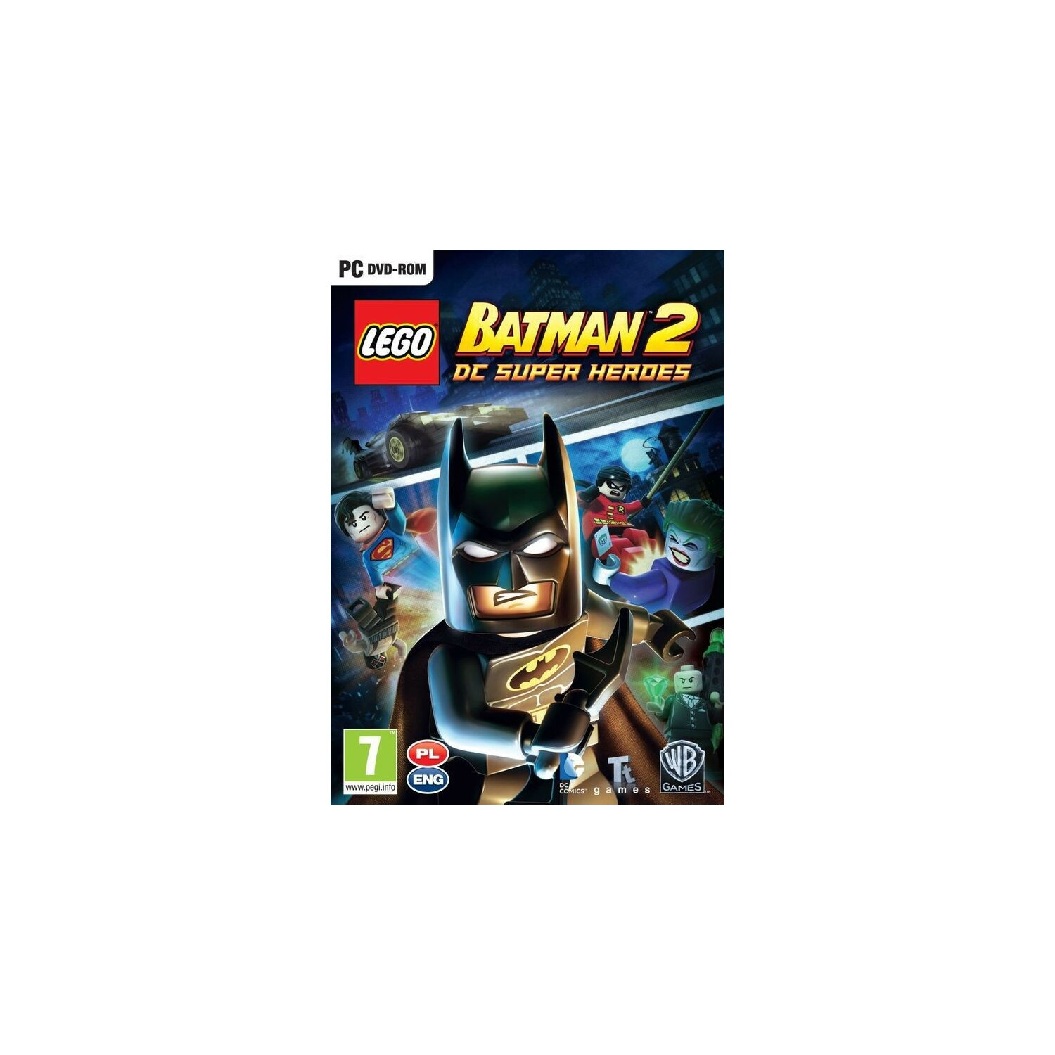 Gra PC CENEGA LEGO Batman 2: DC Super Heroes