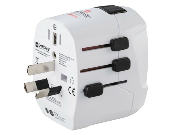 Adapter podróżny HAMA World Travel Pro Light 2xUSB 001373830000
