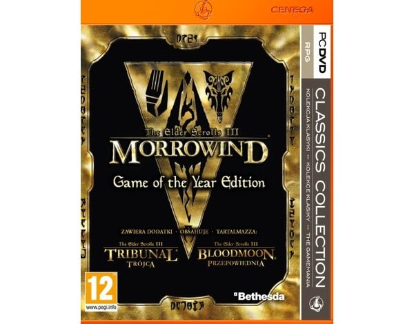 Gra PC PKK The Elder Scrolls III: Morrowind Game of the Year Edition