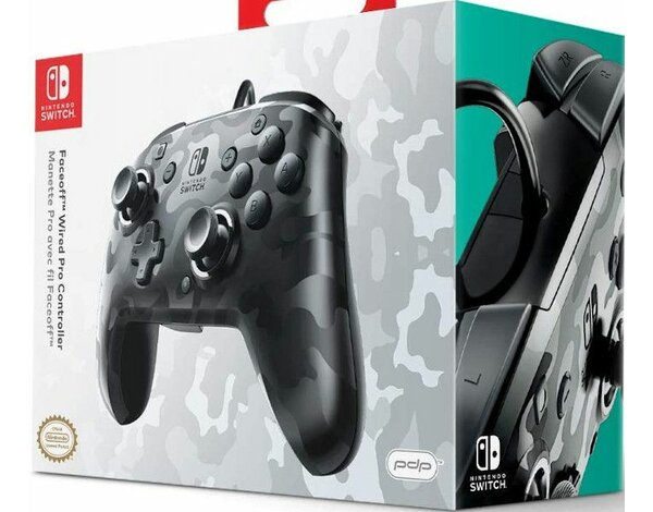 Kontroler PDP Faceoff Wired Pro Controller do Nintendo Switch
