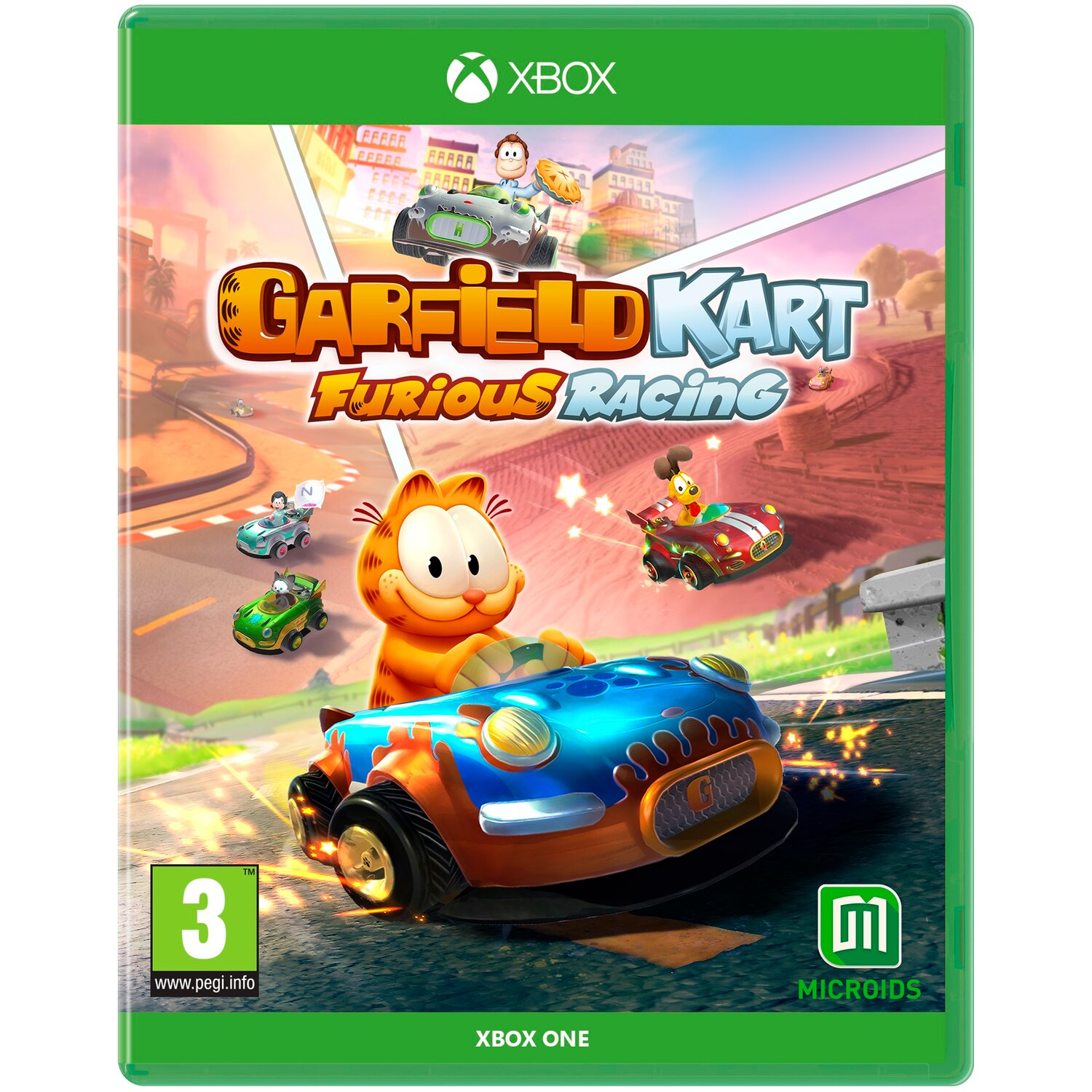 Gra Xbox One Garfield Kart Furious Racing