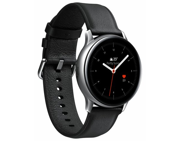 SmartWatch SAMSUNG Galaxy Watch Active2 LTE Stal Nierdzewna 40mm Srebrny SM-R835FSSAXEO