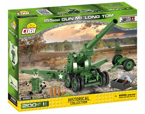Klocki COBI Small Army 2394 155 mm Gun M1 Long Tom