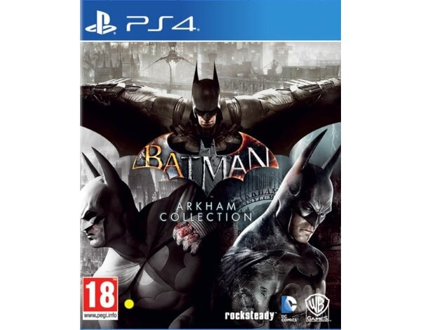 Gra PS4 Batman Arkham Collection