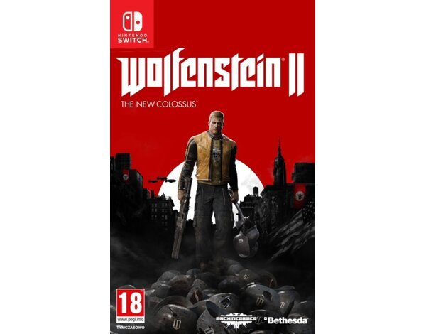 Gra Nintendo Switch Wolfenstein II: The New Colossus