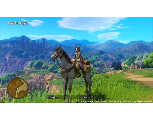 Gra Nintendo Switch Dragon Quest XI S: Echoes of an Elusive Age - Definitive Edition