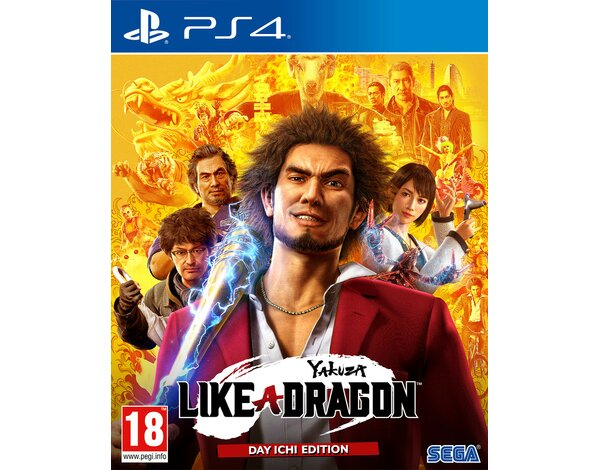 Gra PS4 Yakuza: Like a Dragon