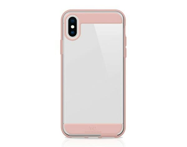 Etui na smartfon WHITE DIAMONDS Innocence Clear do Apple iPhone XS Max Różowe złoto