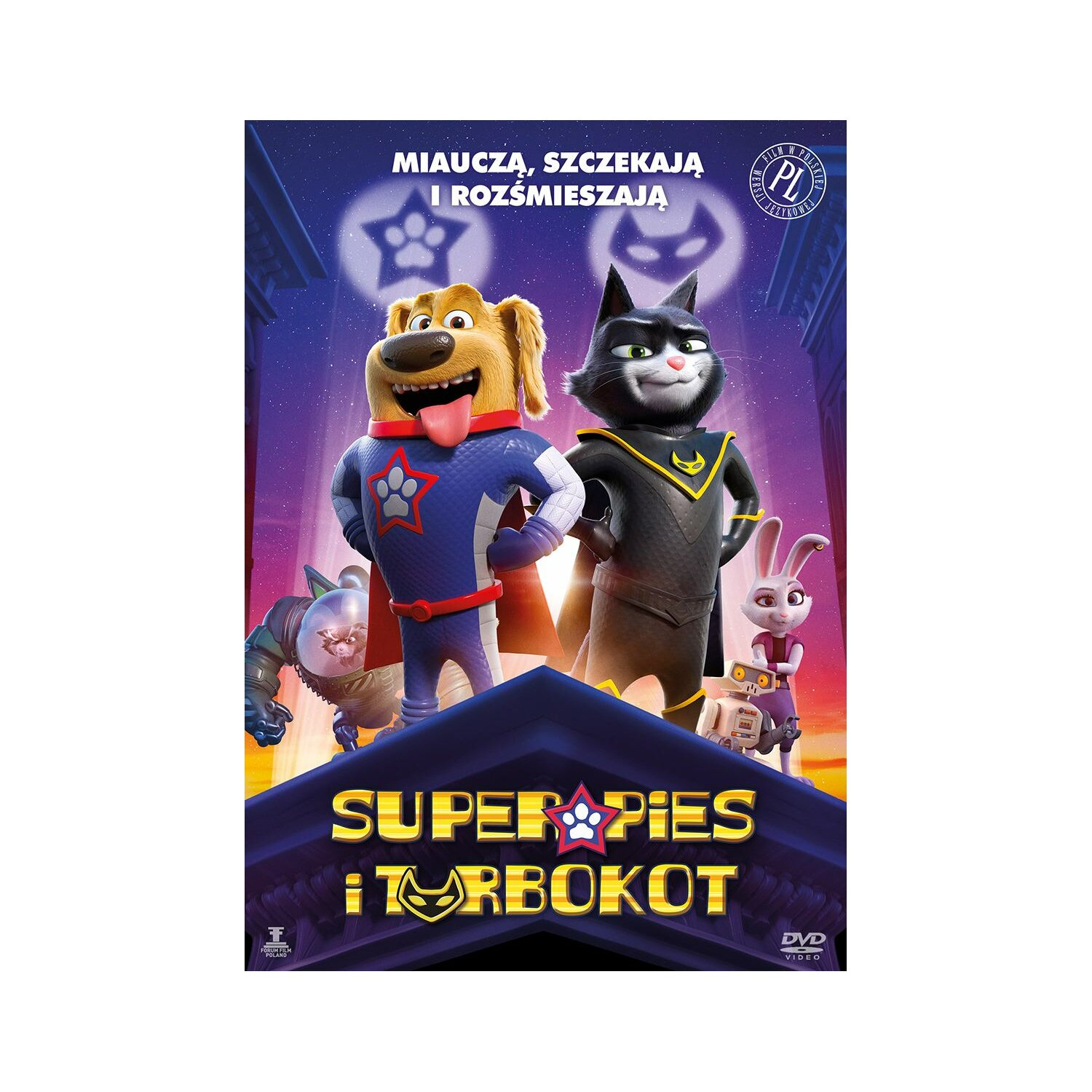 Superpies i Turbokot (DVD)