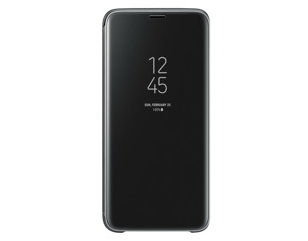 Etui SAMSUNG Clear View Standing Cover do Galaxy S9 Czarny EF-ZG960CBEGWW
