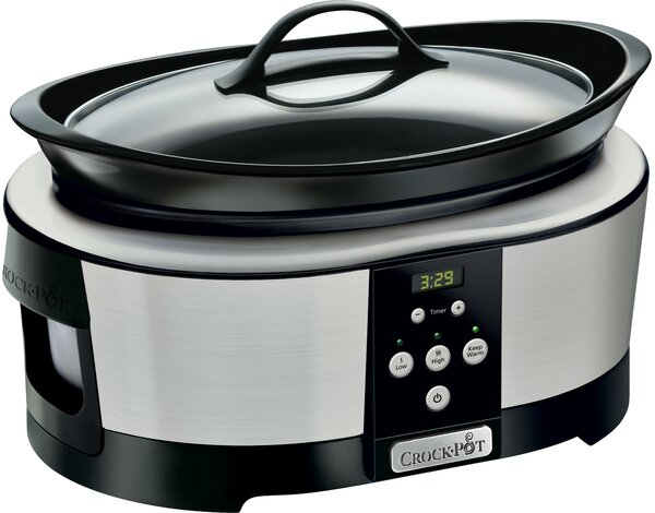 Wolnowar CROCK POT 5,7 l Chrom